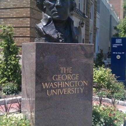 Photo taken at The George Washington University by Phil K. on 7/19/2012