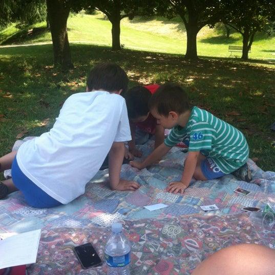 Photo taken at Parco Ragazzi del '99 by Georgia L. on 6/24/2012