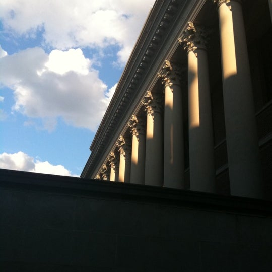 Photo taken at Widener Library by Rebecca M. on 8/17/2011