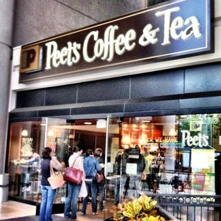 Photo taken at Peet's Coffee & Tea by The Corcoran Group on 8/3/2011