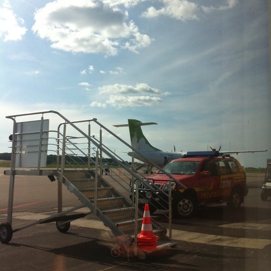 Photo taken at Ängelholm-Helsingborg Airport (AGH) by J N. on 8/3/2011