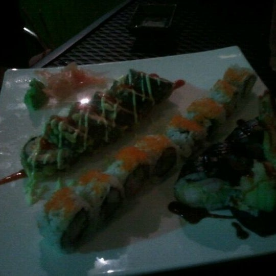 Photo taken at Sushi Cafe by Haley M. on 11/16/2011