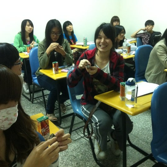 Photo taken at 亞洲大學 Asia University by Synic M. on 3/29/2012