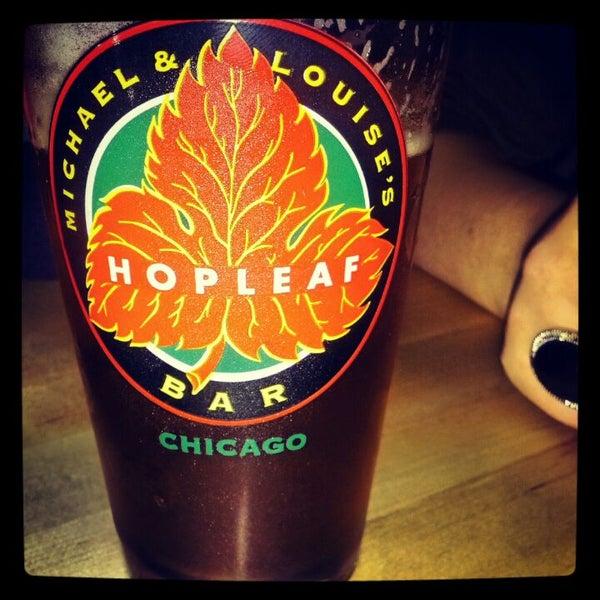 Photo taken at Hopleaf Bar by Derek H. on 5/5/2012
