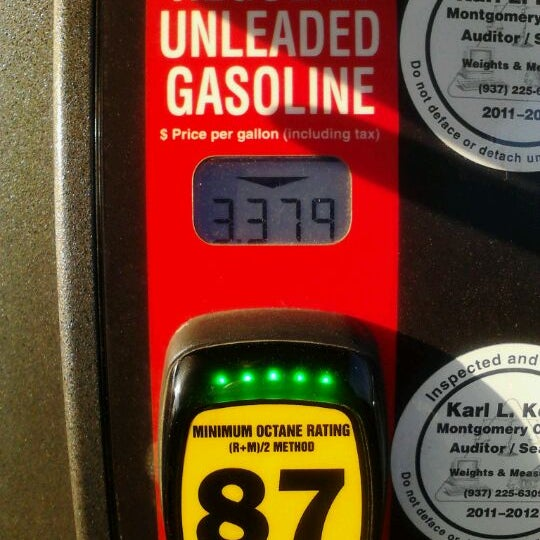 Photo taken at Kroger Fuel Center by Kristi R. on 3/20/2012