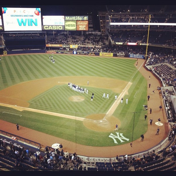 Photo taken at Yankee Stadium by Bruno R. on 5/11/2012