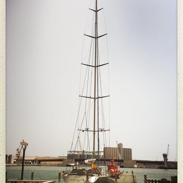 Photo taken at Port de Tarragona by Skirmantas J. on 7/21/2016