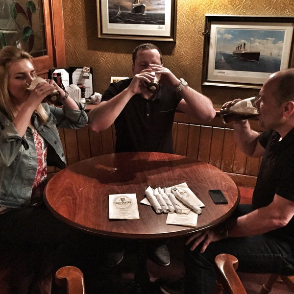 """Getting our """"car bomb"""" as a Friday sweet start of the weekend! Nice staff."""