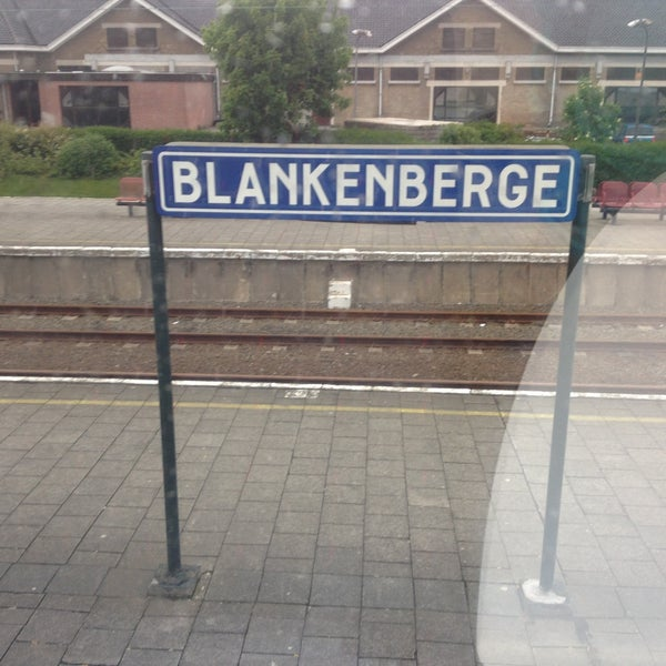 Photo taken at Station Blankenberge by Terrence K. on 5/21/2013