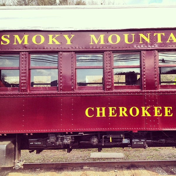 Photo taken at Great Smoky Mountain Railroad by Nathan S. on 3/16/2013