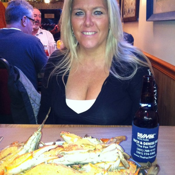 Photo taken at May's Crab & Seafood by Denise F. on 2/17/2013