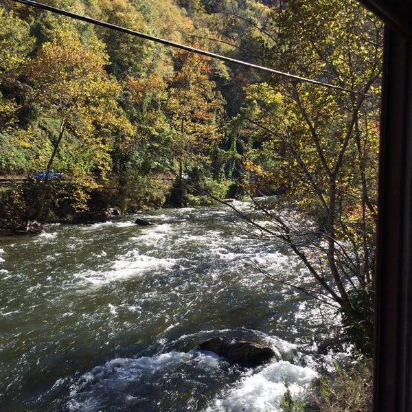 Photo taken at Great Smoky Mountain Railroad by Gloria S. on 10/19/2014