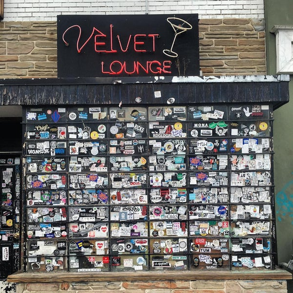 Photo taken at Velvet Lounge by Jesse T. on 10/16/2015