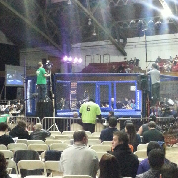 Photo taken at Main Street Armory by Bran F. on 3/30/2013