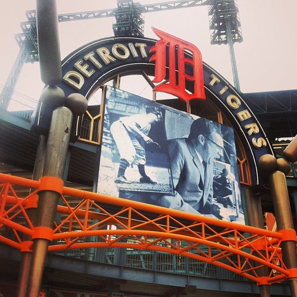 Photo taken at Comerica Park by Ryan B. on 5/14/2013