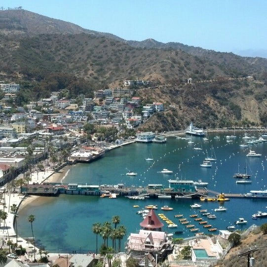 Photo taken at Santa Catalina Island by Melissa M. on 5/4/2013