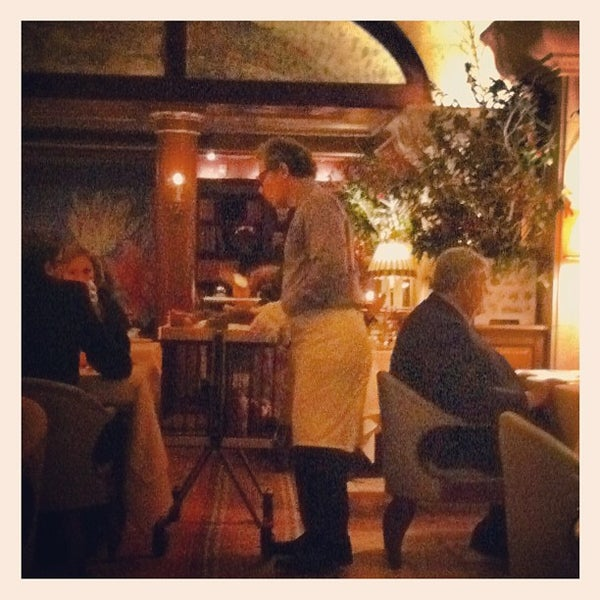 Photo taken at Bouley by Alexandra P. on 1/10/2013