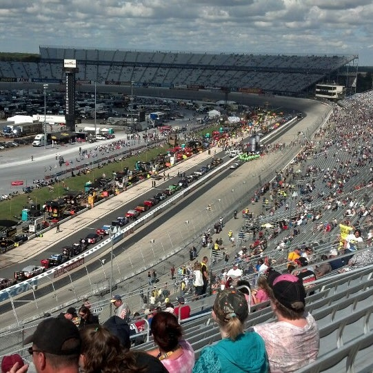 Photo taken at Dover International Speedway by Steven W. on 9/29/2013