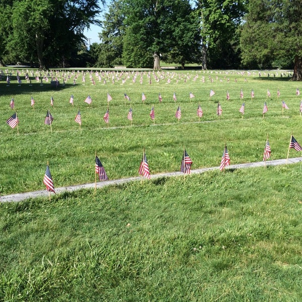 Photo taken at Soldiers' National Cemetery by Doug B. on 5/25/2015
