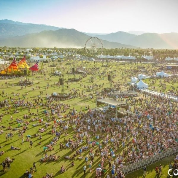 Photo taken at Coachella Valley Music and Arts Festival by Lisa T. on 4/14/2013