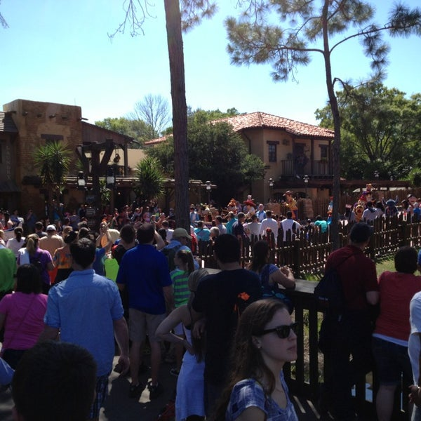 Photo taken at Frontierland by Kevin W. on 3/16/2013