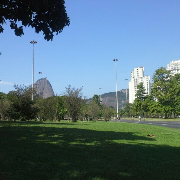 Photo taken at Aterro do Flamengo by Alexandre C. on 4/28/2013
