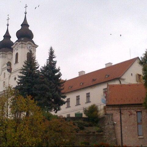 Photo taken at Tihanyi Apátság by Gyorgy K. on 11/1/2012