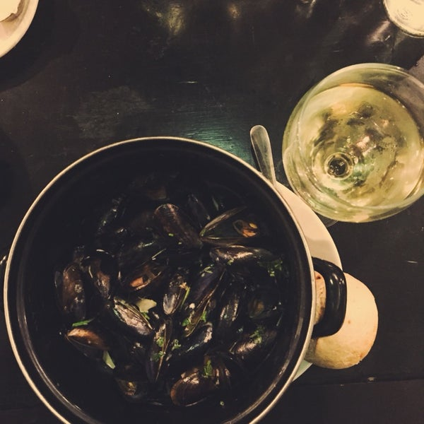 The mussels in cream sauce. SWOON