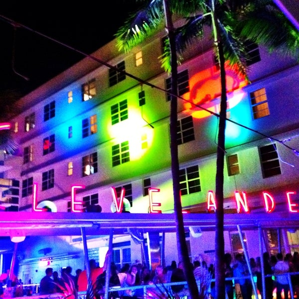 Photo taken at Clevelander by Kelly M. on 6/28/2013