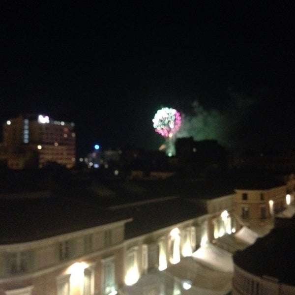 Photo taken at Room Mate Larios Hotel by Marivi R. on 8/15/2014