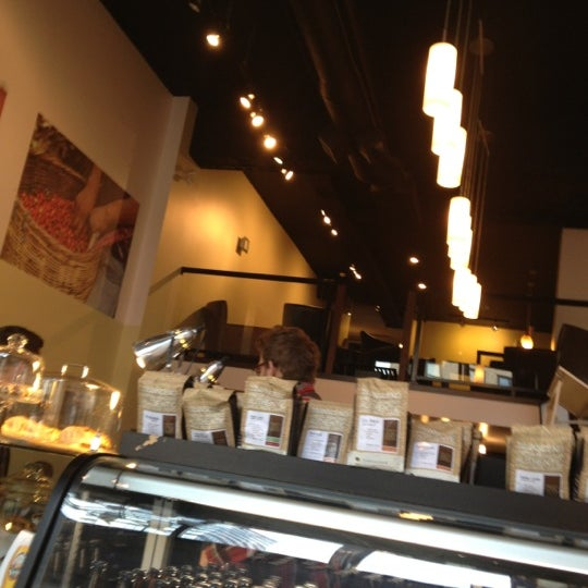 Photo taken at Transcend Coffee by Jerry A. on 10/4/2012
