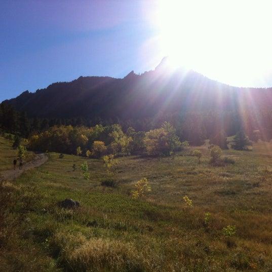 Photo taken at Chautauqua Park by Cornflower M. on 10/2/2012