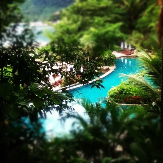 Photo taken at Santhiya Resort And Spa Koh Phangan by Zita C. on 10/8/2012
