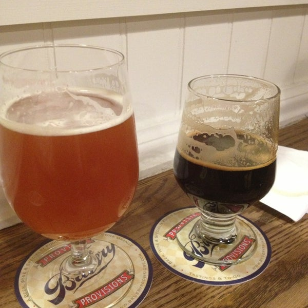 Photo taken at The Bruery Provisions by Yvonne A. on 12/21/2012