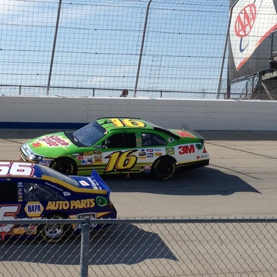 Photo taken at Dover International Speedway by Mark P. on 9/30/2012