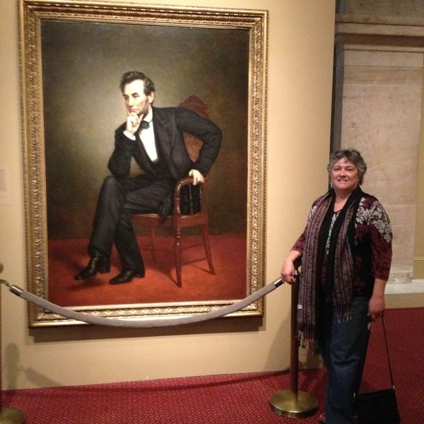 Photo taken at National Portrait Gallery by Nicoline C. on 1/20/2013