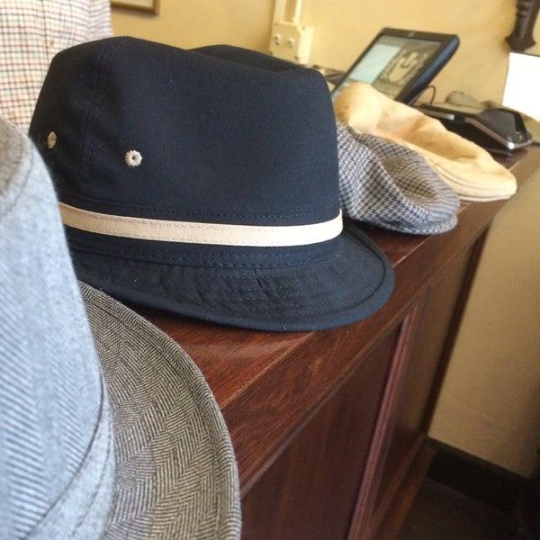 Photo taken at Goorin Bros. Hat Shop by Gary K. on 4/24/2015
