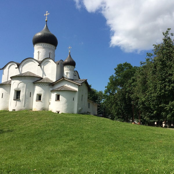 Photo taken at Псков / Pskov by Irina Z. on 6/21/2015