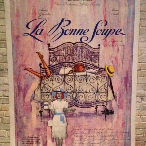Photo taken at La Bonne Soupe by Tabatha V. on 10/12/2013