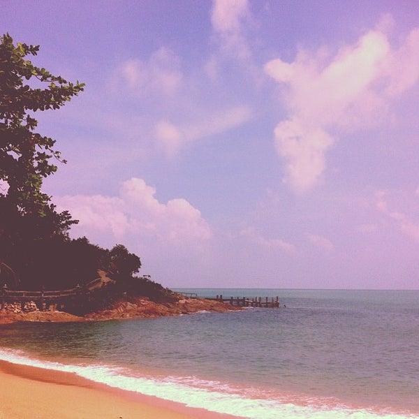 Photo taken at Santhiya Resort And Spa Koh Phangan by Ron G. on 12/28/2012
