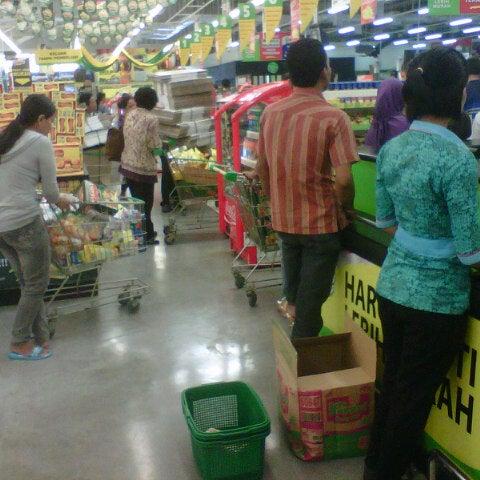 Photo taken at Giant Hypermarket by aldila s. on 7/26/2013