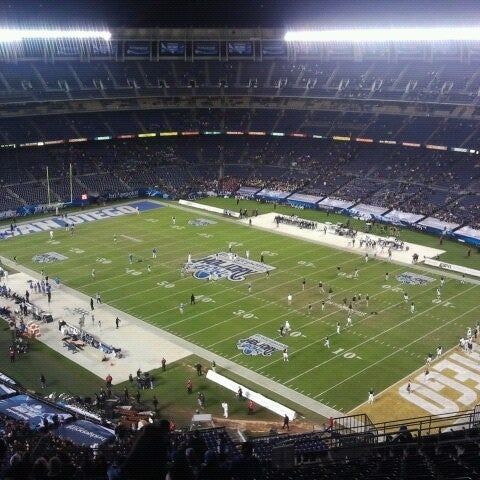 Photo taken at Qualcomm Stadium by Arti S. on 12/28/2012