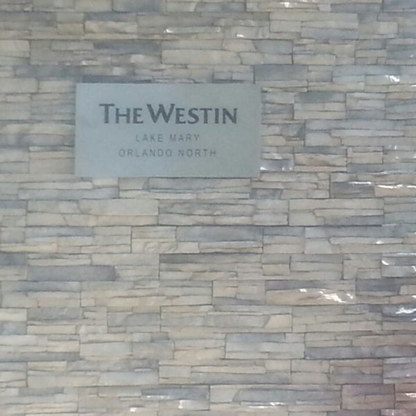 Photo taken at The Westin Lake Mary, Orlando North by Robert M. on 5/25/2013