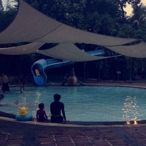 Photo taken at Graha Residence Swimming Pool by Bashar B. on 4/26/2015