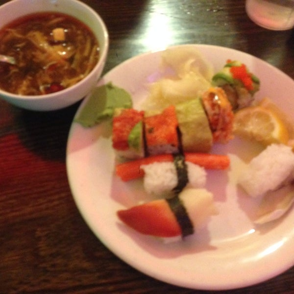 Photo taken at Amber Buffet & Hibachi by Kerry F. on 5/11/2014