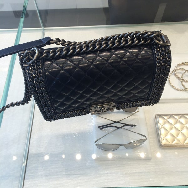 Photo taken at CHANEL Boutique by Sveta N. on 4/19/2015