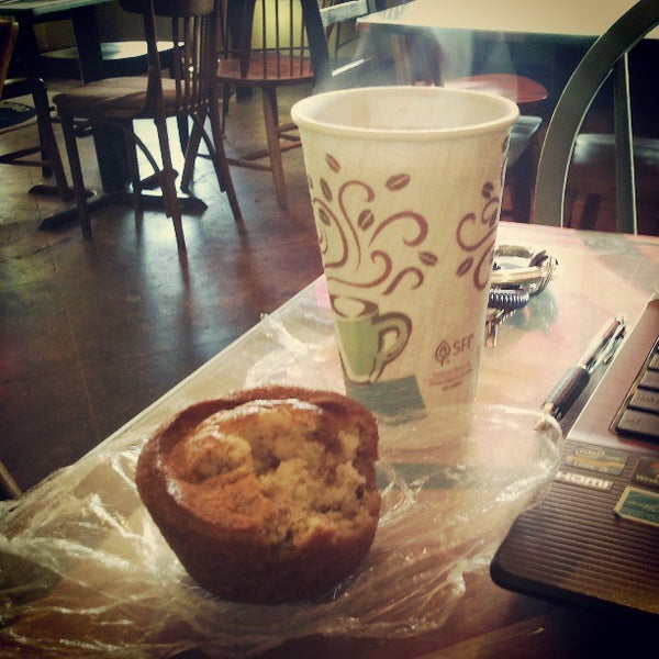 Photo taken at Rivertown Coffee by Andy T. on 4/25/2013