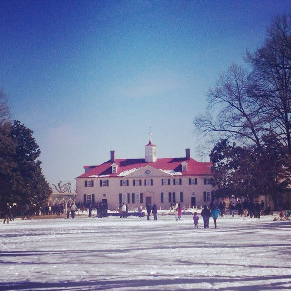 Photo taken at George Washington's Mount Vernon Estate, Museum & Gardens by Trey W. on 2/17/2014