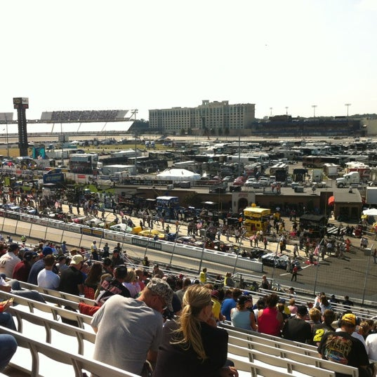 Photo taken at Dover International Speedway by Chris S. on 9/30/2012