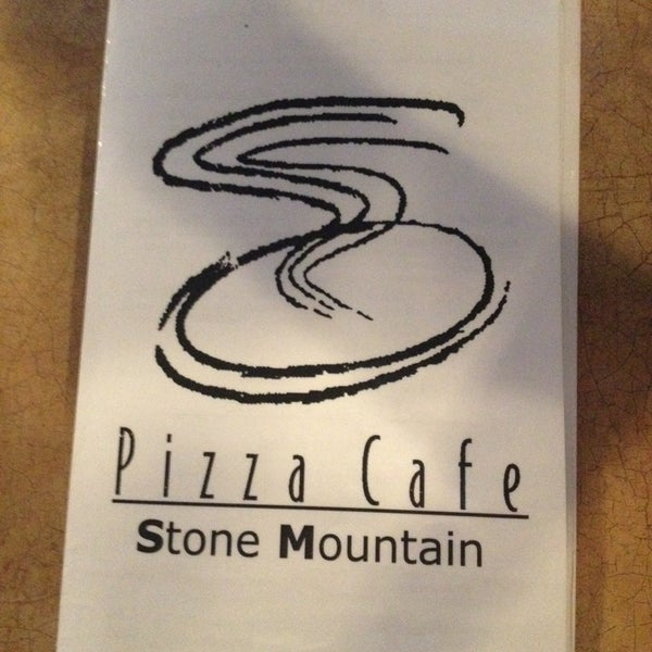 Photo taken at Stone Mountain Pizza Cafe by Manda B. on 10/20/2013